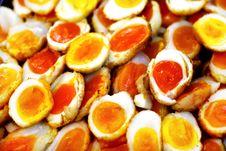 Eggs In A Pile Stock Photos