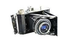 Free Old Photocamera Stock Photography - 8625702