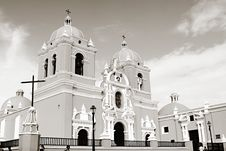 Spanish Colonial Church Stock Images