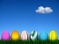 Free Easter Egg Hunt Royalty Free Stock Photo - 8627065