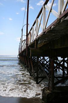 Free Long Pier Royalty Free Stock Photo - 8628375