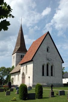 Free Church On Gotland Stock Photography - 8628392