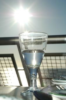 Free Glass Of Water Royalty Free Stock Photo - 8628425