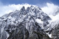 Free High Mountains Royalty Free Stock Image - 8628576