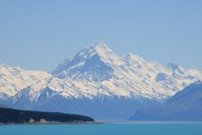 Free Mt. Cook Royalty Free Stock Photography - 8629057