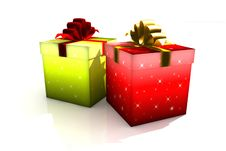 Free Gift Boxes Stock Image - 8629701