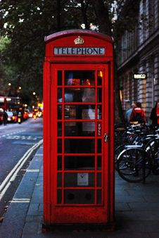 Free Phone Cabin Royalty Free Stock Photography - 86218957