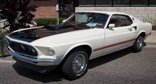 Free 1969 Ford Mustang Mach 1 Royalty Free Stock Photos - 86219668