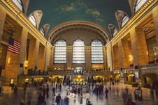 Free Grand Central Station In USA Stock Image - 86220171