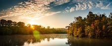 Free Sunset Over Amazon River Royalty Free Stock Photo - 86223075