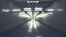 Free Underground Walkway Royalty Free Stock Photography - 86223497