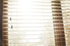 Free White Window Blinds Open Royalty Free Stock Photos - 86224248