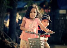Free Children Riding Bicycle Stock Photography - 86226362