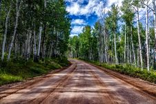 Free Road Receding Through Countryside Royalty Free Stock Images - 86227259