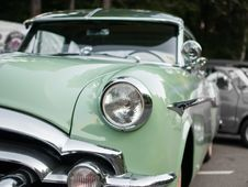 Free Vintage Car On Streets Stock Photo - 86228550
