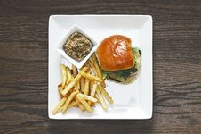 Free Directly Above Shot Of Food Served On Table Royalty Free Stock Photos - 86229468