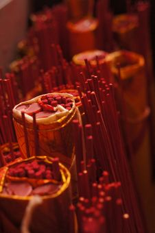 Free Red Chinese Candle Royalty Free Stock Photo - 86230815