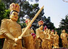 Free The Ten Thousand Buddhas Monastery. Royalty Free Stock Image - 86243426