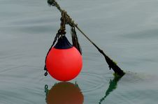 Free The Red Buoy. Royalty Free Stock Photos - 86243688