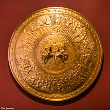 Free Shield Of Achilles Royalty Free Stock Photo - 86245595