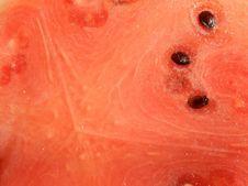 Free Rouge - Intérieur D Une Pastèque Royalty Free Stock Image - 86245596
