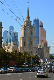 Free Moscow City Royalty Free Stock Photo - 86246775