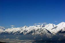 Free Snowy Mountain Range Stock Photo - 86247640