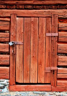 Free Old Wooden Door Royalty Free Stock Images - 86248449