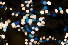 Free Bright Blurred Bokeh Lights Royalty Free Stock Photography - 86250177
