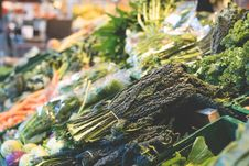 Free Close-up Of Vegetables In Market Stock Image - 86252071