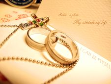 Free Close-up Of Wedding Rings Stock Image - 86252711