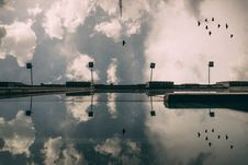 Free Reflection Of Clouds In Sky Stock Photo - 86253460