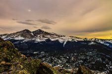 Free Snowy Mountains Royalty Free Stock Photo - 86282875