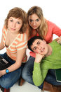 Free Three Of Friends Stock Photography - 8634192