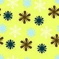 Free Retro Flowers Stock Images - 8635764