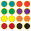 Free Set Of Buttons With A Gradient Grid Royalty Free Stock Image - 8638166