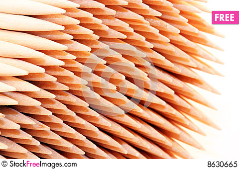 Free Toothpicks Royalty Free Stock Photo - 8630665