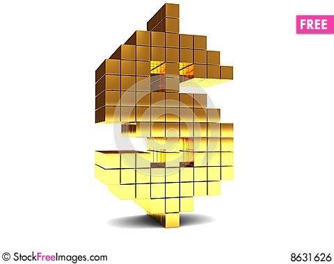 Free Dollar Sign Royalty Free Stock Image - 8631626