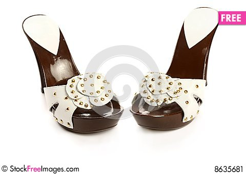 Free New Woman Shoes Stock Image - 8635681