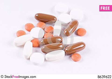 Free Pills Stock Photography - 8639622