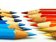 Free Colored Pencils Stock Image - 8630091