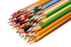 Free Colored Pencils Stock Photos - 8630103