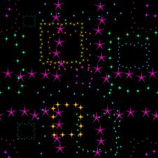 Free Background With Stars Royalty Free Stock Images - 8630279