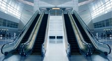 Free Modern Airport Architecture Royalty Free Stock Images - 8630349