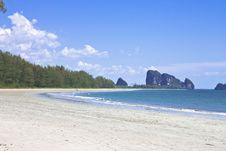 Free Chao Mai Beach, Trang Province, Thailand. Royalty Free Stock Images - 8630679