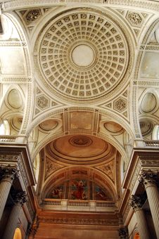 Free Ceiling In Pantheon Stock Image - 8630951
