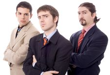 Free Three Business Men Royalty Free Stock Photo - 8630975