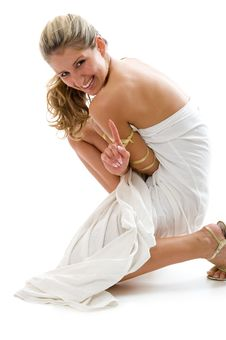 Attractive Girl Stock Photography