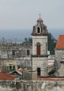 Churches Of Old Havana Royalty Free Stock Images