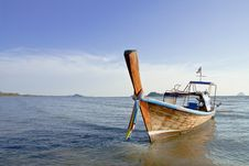 Free Boat At The Beach. Royalty Free Stock Photos - 8631858